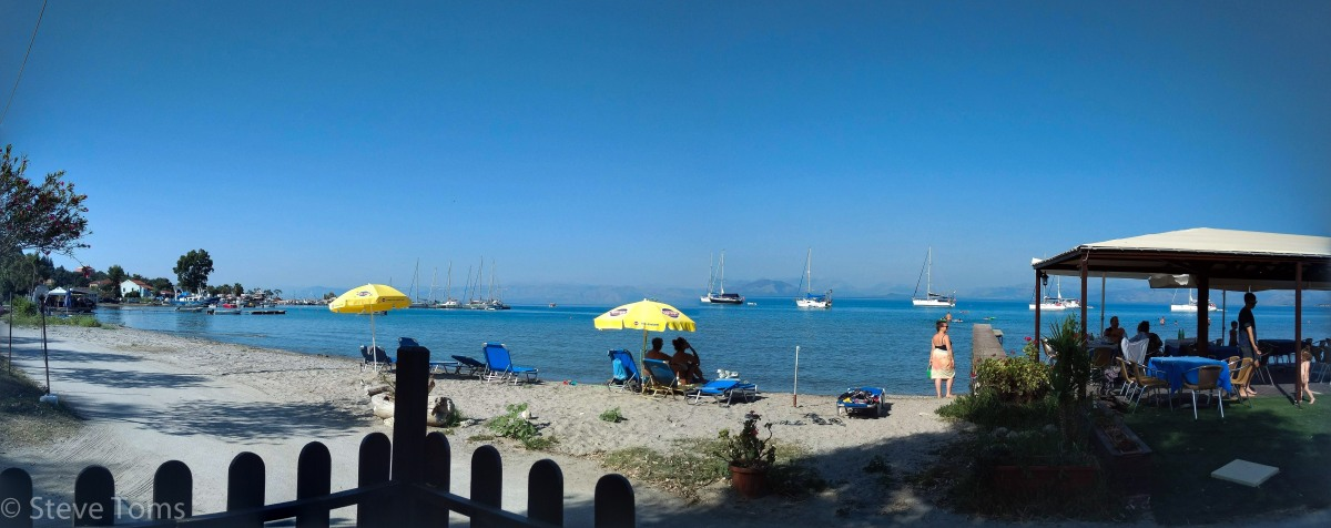 Corfu, our first taste ofGreece