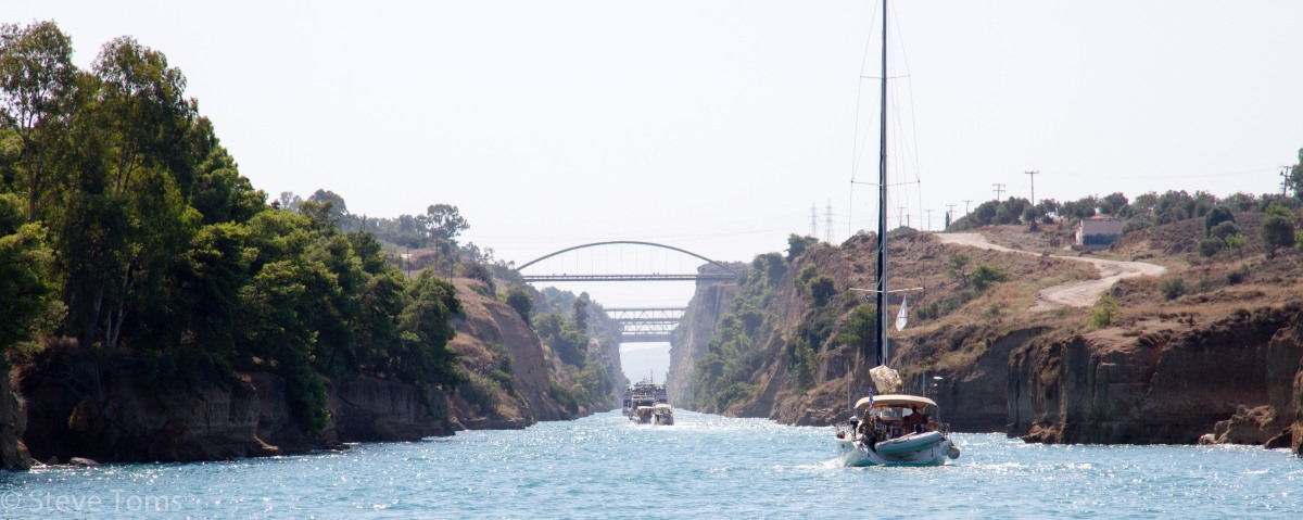Corinth Canal – 3.2 'must do'miles