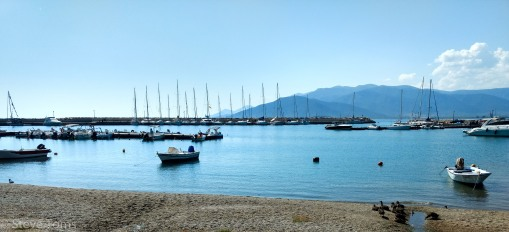 Yachts on the quay