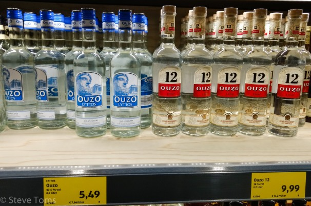 Chris's local supermarket