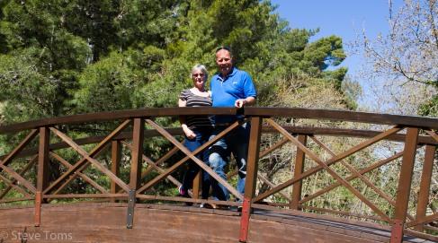 Gill and I at Mystras