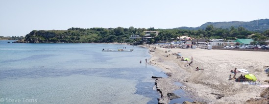 Watersports beach